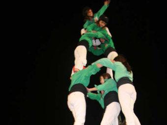Un moment de l'actuació a Manresa. AIRENOU DE BAO