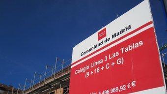El CEIP Josep Tarradellas continua en obres a Madrid tot i tenir-hi nens matriculats des del 2009 REDACCIÓ