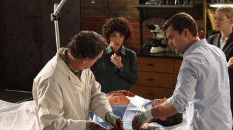 Escena d'un episodi de la sèrie nord-americana 'Fringe' ARXIU