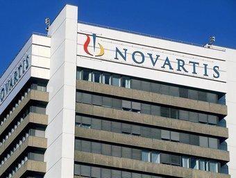 La seu central de Novartis.  EFE