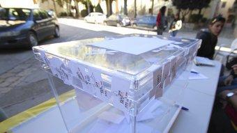 Les urnes tornaran a ser protagonistes avui D.BALAGUER