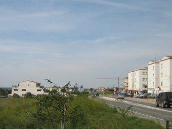 Els terrenys on es preveuen fer els habitatges de protecció oficial. A.V