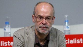 Antoni Castells, a la seu del PSC QUIM PUIG