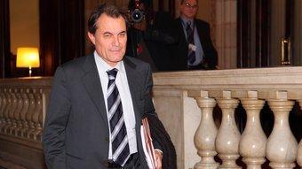 Artur Mas al Parlament ANDREU PUIG