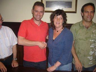 Jordà i Pérez, després de signar el pacte de n del 2007, tornen a presentar-se. J.C
