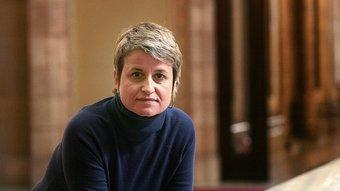 Anna Simó, als passadissos del Parlament JOSEP LOSADA
