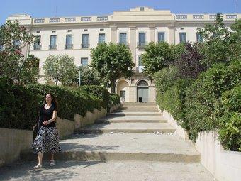 A l'edifici Xifré, d'Arenys de Mar, es crearà un viver d'empreses. LLUIS MARTÍNEZ