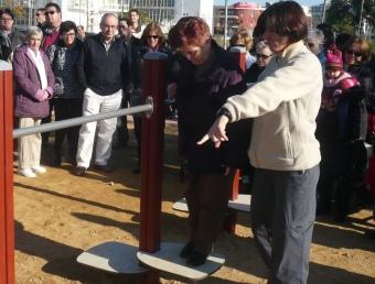 El parc urbà de Platja d'Aro va ser el primer a inaugurar-se en un municipi gironí, el desembre passat, i es va oferir una demostració pràctica. A.V