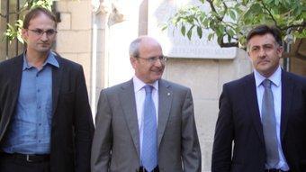 Herrera, Montilla i Puigcercós, a la Generalitat JUANMA RAMOS