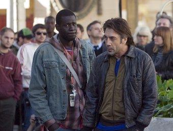 Javier Bardem, durant el rodatge de 'Biutiful' a Barcelona GABRIEL MASSANA