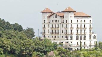 L'hotel La Florida, al Tibidabo, de Ramon Reventós, autor també del projecte de l'hotel Miramar de Montjuïc.  ARXIU/JUANMA RAMOS