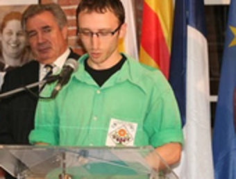 Rafael Renyé Pla, seguirà com a cap de colla dels Castellers del Riberal. ARXIU