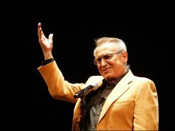 Concert d'Escobar a Girona, el 2010. Ha mantingut fins al final l'afecte del públic J. SABATER