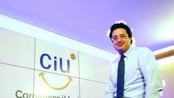 L'estratega de CDC, David Madí, a la seu del partit ARXIU