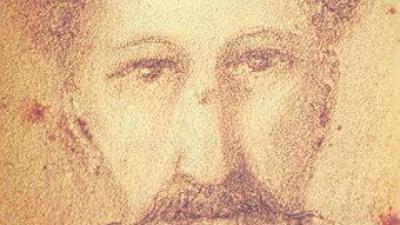Autoretrat realitzat entre 1848 i 1855, col·Ìecció de Jacques Marceille. JACQUES SAQUER