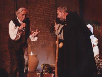 Jordi Barre i Henri Jonca -autor del llibre- en una representació recent. SOURCES / CANTEM