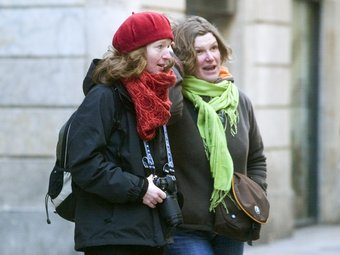 El fred s'ha intensificat a Barcelona GABRIEL MASSANA