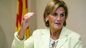 La nova presidenta del Parlament, Núria de Gispert (CiU), que serà escollida avui en la constitució de la nova legislatura ANDREU PUIG /AVUI