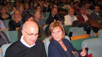 Josep Antoni Duran, ahir amb Núria de Gispert al consell nacional d'Unió REDACCIÓ