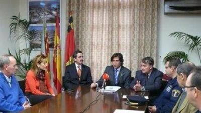 Reunió de la Junta de Seguretat dels tres municipis afectats. CEDIDA