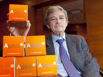 Joaquim Coello, president d'Applus+, al seu despatx a la seu de Cerdanyola del Vallès.  ROBERT RAMOS