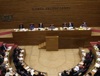 Panoràmica del parlament valencià. REDACCIÓ