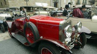 La societat Hispano-Suiza de fabricació d'autos es va crear a Barcelona l'any 1904.  ARXIU /J. RAMOS