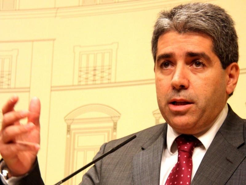 El portaveu del govern, Francesc Homs ARXIU