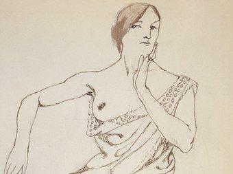 Els dibuixos d'Ismael Smith, fets a París, demostren el gust de l'artista per l'erotisme, el dandisme i la sofisticació. FUNDACIÓ MAPFRE