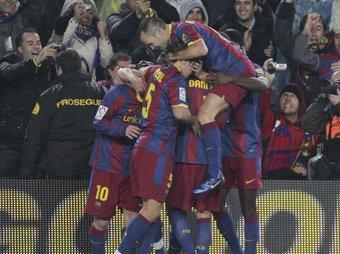 No és una de les claus de l'èxit del Barça la situació que viu el vestidor?  ARXIU/ROBERT RAMOS