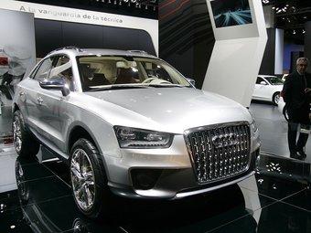 Prototip de l'Audi Q3 exposat al mes de gener al Saló de l'Automòbil de Barcelona FRANCESC MELCION / ARXIU