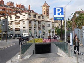 L'aparcament del Centre podria tenir places per a embarassades. C.A.F