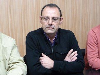 Alfons Escoda, l'endemà que els militants de CDC l'escollissin cap de llista de CiU. C.A.F