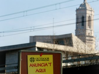 Girona va registrar de matinada una mínima de 7,4 graus negatius MANEL LLADÓ