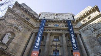 La seu central de Catalunya Caixa, que es convertirà en banc. ROBERT RAMOS