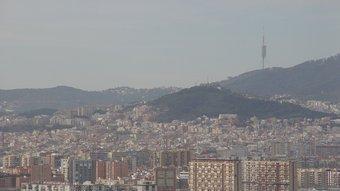 La trama urbana del Barcelonès és molt densa i configura un tot força homogeni. No es perceben fronteres. GERARD ARIÑO
