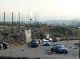 El nou cementiri es podria fer al costat del camp de futbol. G.A