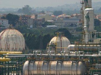Instal·lacions de la indústria química de Tarragona.  ARXIU
