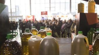 Durant la fira es podrà comprar oli d'oliva verge extra de diverses DO. TJERK VAN DER MEULEN