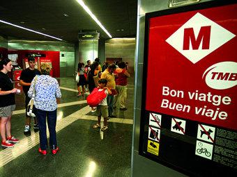 Comprar bitllets amb targetes transport representarà un estalvi anual de fins a 300 euros.  ARXIU