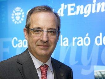 Joan Cavallé és el director general de la Caixa d'Enginyers.  L'ECONÒMIC