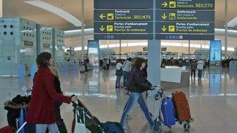 La terminal T1 de l'aeroport del Prat és una de les més modernes i funcionals d'Europa JUANMA RAMOS