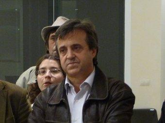 Toni Morral és el candidat d'ICV-EUiA a l'alcaldia de Cerdanyola. C.A.F