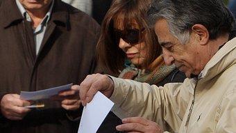 La recollida de vots intensiva va començar el 12 de desembre a la Barceloneta. ORIOL DURAN