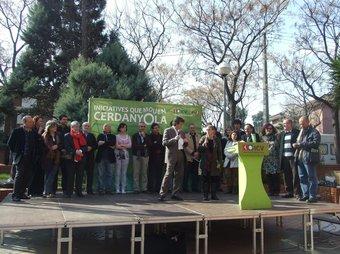 L'acte de presentació es va fer a l'Ateneu. EL PUNT