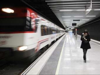 La nova estació de Sagrera-Meridiana s'inaugurava ahir tot i que no entrarà en servei fins diumenge ROBERT RAMOS