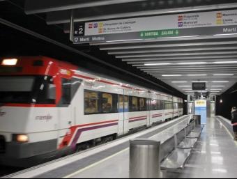 L'estació de la Sagrera-Meridiana ja és oberta al públic. ROBERT RAMOS