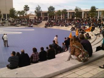 Àgora de la Universitat Jaume I de Castelló E.ORTS