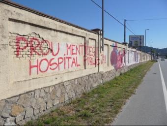 L'hospital s'ha de construir en aquests terrenys de Montcada de l'N-150, a tocar de Cerdanyola i Ripollet. C.A.F