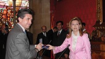 Maria Antònia Munar, dirigent d'UM, que va ser presidenta del Consell Insular de Mallorca i del Parlament balear ARXIU